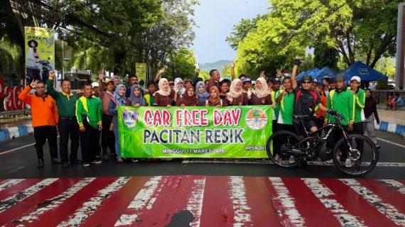 Car Free Day Bebas Sampah Alun-alun Pacitan